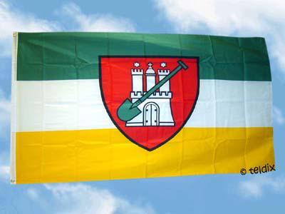 Flagge Fahne HAMBURGER GARTENFLAGGE 150 x 90 cm