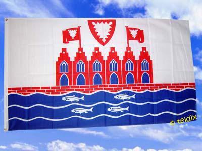 Flagge Fahne HEILIGENHAFEN 150 x 90 cm - Vorschau