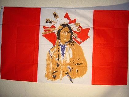 Flagge Fahne KANADA INDIANER 150 x 90 cm - Vorschau