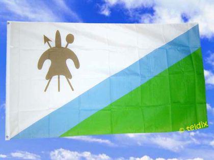 Flagge Fahne LOSOTHO 150 x 90 cm - Vorschau