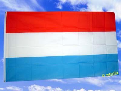Flagge Fahne LUXEMBURG 150 x 90 cm