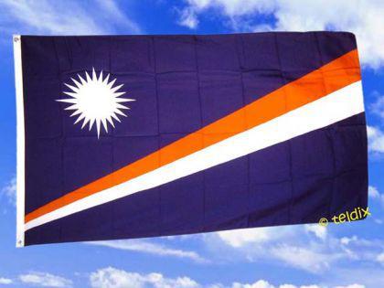 Flagge Fahne, MARSCHALL INSELN 150 x 90 cm - Vorschau
