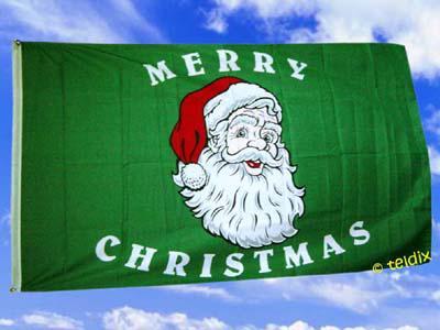 Flagge Fahne MERRY CHRISTMAS 150 x 90 cm