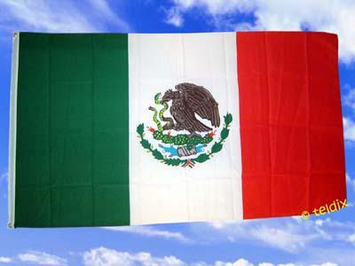 Flagge Fahne MEXICO 150 x 90 cm - Vorschau