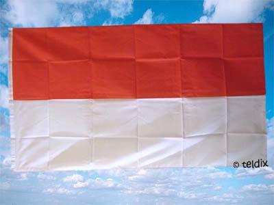 Flagge Fahne MONACO 150 x 90 cm