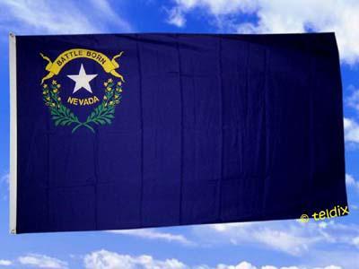 Flagge Fahne, NEVADA 150 x 90 cm - Vorschau