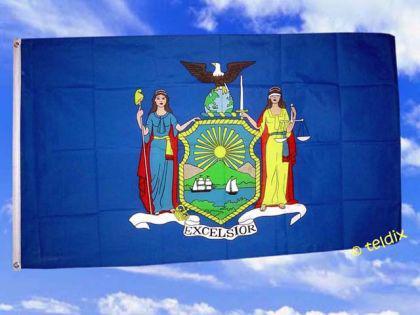 Flagge Fahne NEW YORK 150 x 90 cm - Vorschau