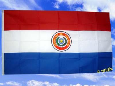 Flagge Fahne PARAGUAY 150 x 90 cm - Vorschau