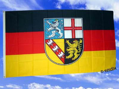 Flagge Fahne SAARLAND 150 x 90 cm