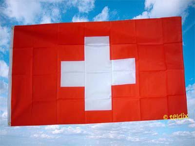 Flagge Fahne SCHWEIZ 150 x 90 cm - Vorschau