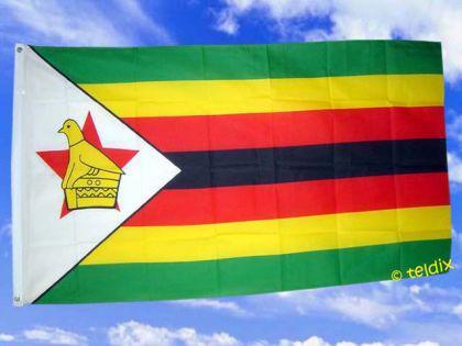 Flagge Fahne SIMBABWE 150 x 90 cm