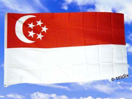 Flagge Fahne SINGAPUR 150 x 90 cm