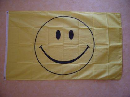 Flagge Fahne SMILEY 150 x 90 cm