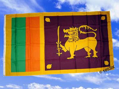 Flagge Fahne SRI LANKA 150 x 90 cm - Vorschau