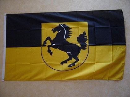 Flagge Fahne STUTTGART 150 x 90 cm - Vorschau