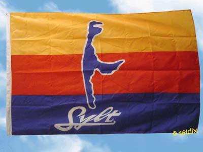 Flagge Fahne SYLT INSEL 135 x 90 cm - Vorschau