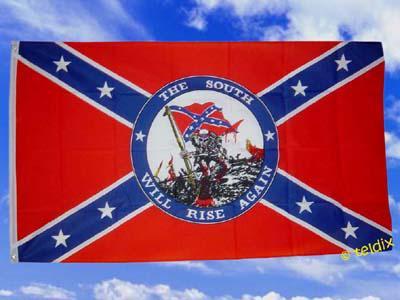 Flagge Fahne SÜDSTAATEN SOUHT WILL RISE 150 x 90 cm - Vorschau