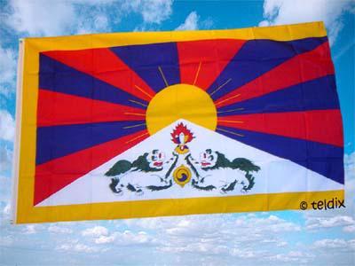 Flagge Fahne TIBET 150 x 90 cm
