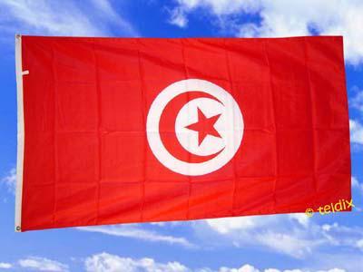 Flagge Fahne TUNESIEN 150 x 90 cm