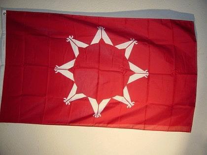 Flagge Fahne USA OGLALA SIOUX 150 x 90 cm