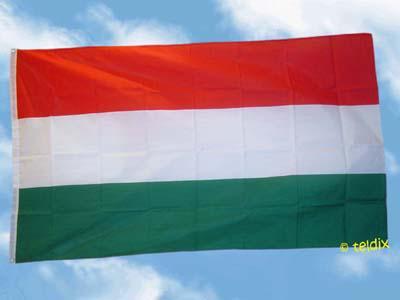 Flagge Fahne UNGARN OHNE WAPPEN 150 x 90 cm