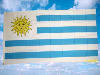 Flagge Fahne URUGUAY 150 x 90 cm