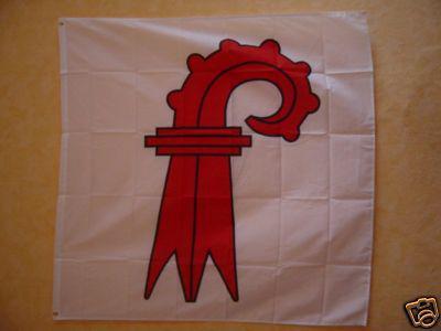 Flagge Fahne BASEL LANDSCHAFT 120 x 120 cm