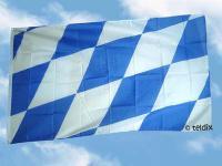 Flagge Fahne BAYERN GROSSE RAUTEN 150 x 90 cm