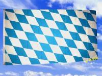 Flagge Fahne BAYERN MITTLERE RAUTEN 150 x 90 cm