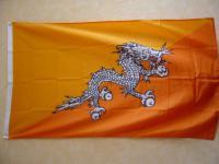 Flagge Fahne BHUTAN 150 x 90 cm