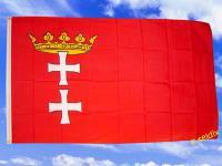 Flagge Fahne DANZIG 150 x 90 cm