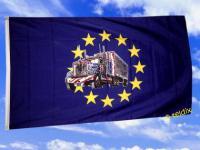 Flagge Fahne EUROPA MIT TRUCK 150 x 90 cm