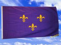 Flagge Fahne FLEUR DE LIS 150 x 90 cm