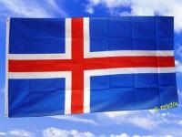 Flagge Fahne ISLAND 150 x 90 cm