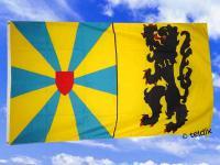 Flagge Fahne WESTFLANDERN 150 x 90 cm