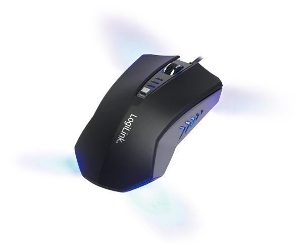 Maus, optisch, Gaming, USB, 2400 dpi, LogiLink®, [ID0105]