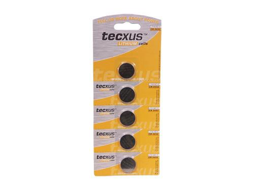 Tecxus® Mainboardbatterien, TYP CR 2032, 5 Stück