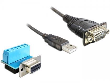 Adapter, USB 2.0 zu 1 x Seriell RS-422/485, Delock® [62406]