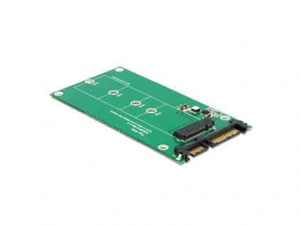 Konverter SATA 22 Pin an M.2 NGFF, Delock® [62551]