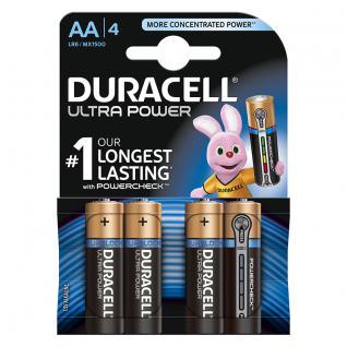 Batterie Alkali Mignon (AA); (Blister), 4er Pack, Duracell®
