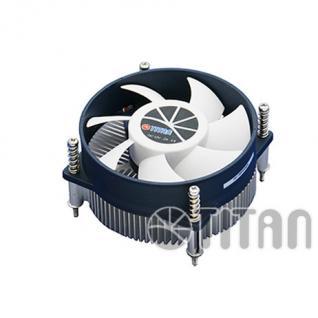 Titan® Aktiv-Kühler für Intel LGA 1156 core i5 unterstürzt bis 75W CPU mit Z-Lager Lüfter mit Backplate