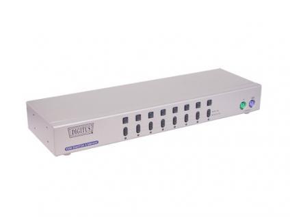 KVM-Switch, 8-fach, automatisch mit OSD, 19 Rack
