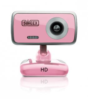 Sweex HD Webcam Rose Quartz