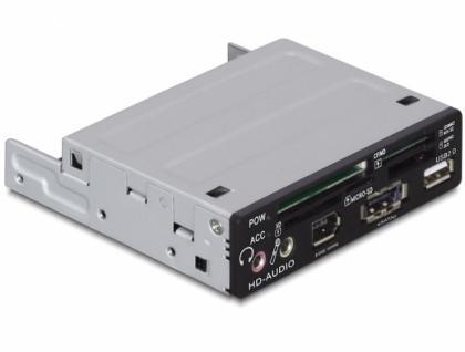 Delock USB 2.0 CardReader 3.5ö All in 1, Delock® [91669]