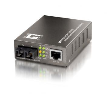 LevelOne® FVT-0104TXFC PoE-Konverter Singlemode bis 20K