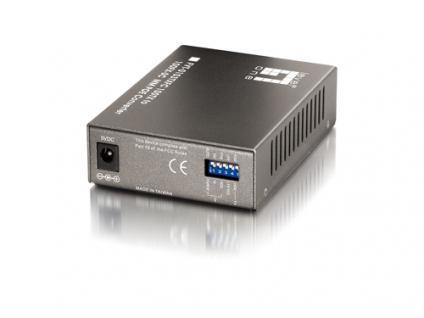 LevelOne® FVT-0103TXFC PoE Converter 10/100TX auf 100FX-SC Multimode