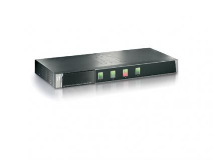 LevelOne® KVM-0410 4-Port KVM-Switch PS/2 mit OSD