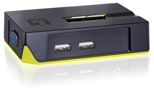 LevelOne® 2-Port USB KVM-Switch, KVM-0222