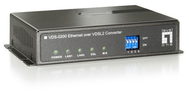 LevelOne® VDS-0200 Ethernet Over VDSL2 Konverter
