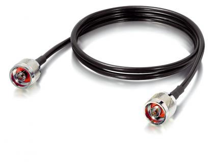 LevelOne® ANC-2210 Antennenkabel schwarz, 200 Series N-St. auf N-St., 1m